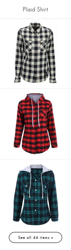 """Plaid Shirt"" by vicky-soleil ❤ liked on Polyvore featuring tops, plaid shirts, levi's shirt, plaid top, tartan plaid shirt, shirt top, hooded, long sleeves, plaid and long sleeve shirts"