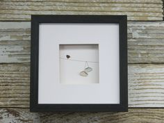 Pebble Art Sneakers on a Wire by Maine artist M. McGuinness!