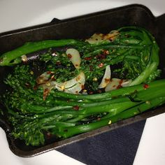 filini : broccoli rabe.
