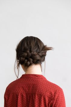 braided + tied up