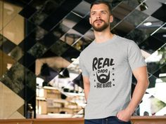 Vintage Real Dads Have Beards, Father's Day 2016 Gift T-shirts. $19.99 and Up. Secure checkout.