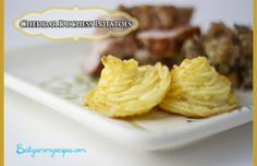 Cheddar Duchess Potatoes