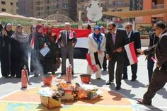 Egypt's administrative prosecution to investigate schoolyard book burning - Politics - Egypt Book Burning, Investigations, Sick, Politics, Social Media, Administration, Books, Illinois, Places