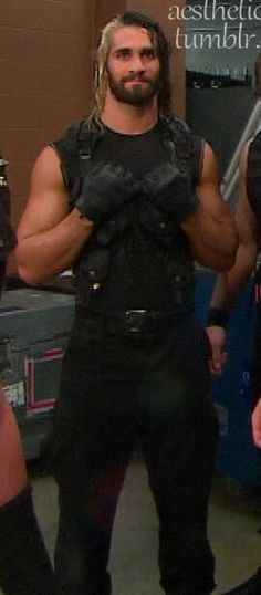 Seth Rollins - Damn, that outfit fits him like a second skin!!