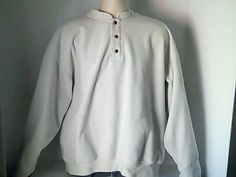 Zero Mens XXL Golf Beige Fleece Sports Windbreaker Jacket Coat #ZeroRestriction