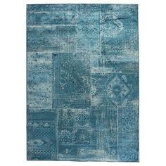 Vloerkleed Florence blauw 170x240 cm, alles voor je klus om je huis & tuin te verfraaien vind je bij KARWEI