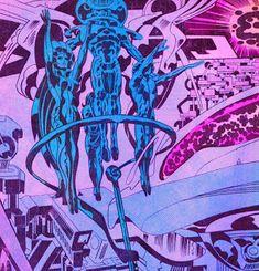 Cap'n's Comics Comic Art, Comic Books, Jack Kirby, Pulp Art, Fantasy World, Trippy, Cosmic, Psychedelic, Illustrators