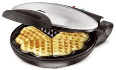 Waffle iron for #romantic heart shaped #waffels. Delicious for #breakfast, or as…