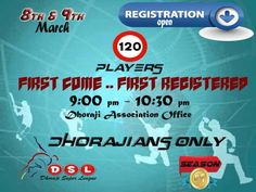 DSL Registration in Karachi  http://allevents.pk/events/DSL-Registration-in-Karachi  #Tournament #DSL #KarachiEvent