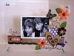 Cornice in plexiglass di Patty Dyi, Boxes, Creative, Frame, Artwork, Projects, Photography, Home Decor, Picture Frame