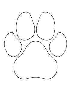 Dog Paw Print Pattern