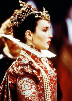 Isabelle Adjani as Queen Margot, La Reine Margot, based on Alexandre Dumas historical novel, has been one of my favorite movies since teen ages.