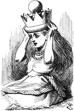 """From """"Through the Looking-Glass, and What Alice Found There""""  by John Tenniel"""