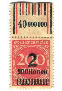 Germany Postage Stamp: 2 millionen   Flickr - Photo Sharing!