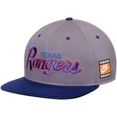 Texas Rangers Nike Cooperstown Collection SSC Throwback Adjustable Snapback  Hat - Anthracite Royal -  29.99 · Gorras snapbackNFLAficionadosSudaderaMiembros  ... 89d880171bd