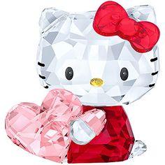 LOVE. Hello Kitty Pink Heart from #Swarovski