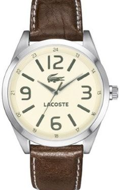 Lacoste watch - simple & elegant
