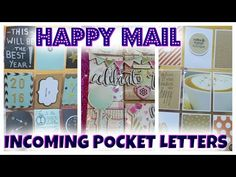 Pocket Letters | Happy Mail #2 : Incoming /Outgoing | I'm A Cool Mom - YouTube