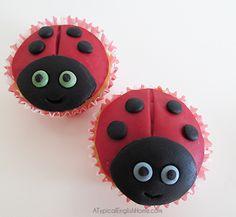 Ladybird/Ladybug Cupcakes