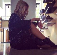 Beautiful Amelia wearing Elena Chalati