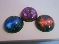 Galaxy resin paperweights - Resin Obsession                                                                                                                                                                                 More