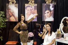 makeup booth at bridal show - Google Search