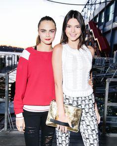 Cara Delevingne and Kendall Jenner #CaKe