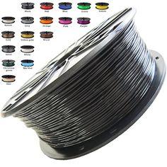 1 Kg Spool Special Summer Sale Efficient Amazonbasics Premium Pla 3d Printer Filament 1.75mm Black