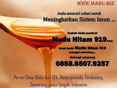 Jika Anda ngin merasa segar bugar setelah melakukan aktivitas berat, jangan ambil minuman dingin atau makanan manis. Cobalah mengonsumsi madu hitam 919 yang tak hanya memulihkan stamina tubuh yang hilang, namun juga gairah seksual seseorang. Bagi Anda yang berdomisili di Bogor dan sekitarnya bisa mendapatkan Madu Hitam 919 melalui nomor yang kami sediakan. Kami melayani pengiriman ke seluruh Indonesia menggunakan JNE. Pengiriman dari kota Semarang, Jawa Tengah Cp 0858.6507.9257 Whatsapp Messenger