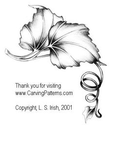 Working with free form patterns in wood carving and pyrography by L S Irish