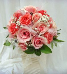 wedding-rose-bouquets-/my favorite color  this is the color roses I want on my casket...