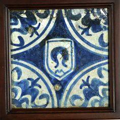 tiles that interlink, 15th century Valencia Inventario: FC.1994.02.93