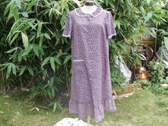 1970s Ditsy Floral Housecoat by Petticoatjanevintage on Etsy, £7.50