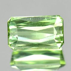 1.36 ct Genuine light green Tourmaline loose gemstone