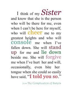 Sister+print++Gift+for+Sister++Sister+by+KatherineMariacaArt
