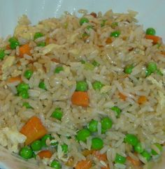 Hibachi Style Fried Rice.