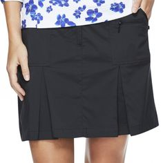 "Need new golf apparel? GGblue Ladies takes pride in offering women's golf clothing for all shapes and sizes. Buy this ESSENTIALS (Black) GGblue Ladies Boca 19"" Golf Skorts today from Lori's Golf Shoppe!"