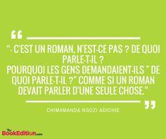 Citation Chimamanda Ngozi Adichie