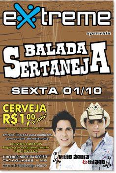 Balada Sertaneja   Extreme