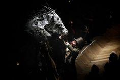 Horse head - Cirk La Putyka - Roots Horse Head, Roots, Studios, Darth Vader, Events, Horses, Fictional Characters, Studio, Horse