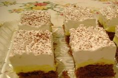 Vanilla Cake, Oreo, Deserts, Food And Drink, Pudding, Sweets, Cookies, Baking, Hungarian Recipes