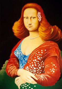 Mona Mia [Hans G. Doller] (Gioconda / Mona Lisa)