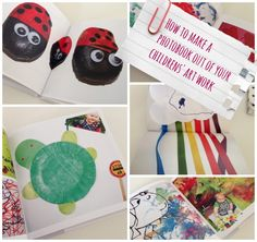 Create a book from your children's art includes how to get a £15 complimentary voucher from Bonusprint to make them too!