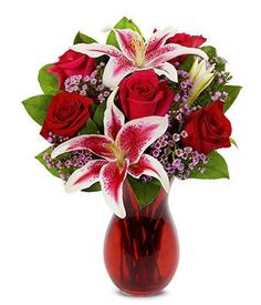 You're In My Heart at From You Flowers Stargazer Bouquet, Red Rose Bouquet, Flower Bouquet Wedding, Valentines Flower Delivery, Same Day Flower Delivery, Flowers For You, Purple Flowers, Red Roses, Send Flowers