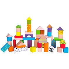 Superb 50 Piece Colourful Wooden Blocks Tub Now At Smyths Toys UK! Buy Online Or Collect At Your Local Smyths Store! We Stock A Great Range Of Wooden Toys & Puzzles At Great Prices.