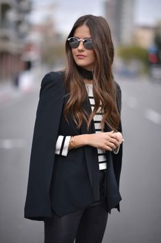 Are you looking for some preppy fresh ideas to achieve a glamorous street look in this fall season? The best of New York Fashion Week 2016 is here! New York Fashion, Fashion 101, Look Fashion, Fashion Outfits, Womens Fashion, Fashion Trends, Street Fashion, Net Fashion, Milan Fashion