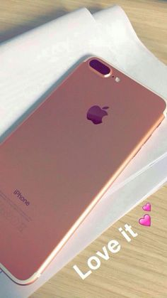 iPhone 7 Plus rose gold Iphone 7 Plus Rose, Iphone 7plus Rose Gold, Iphone Phone, Coque Iphone, Iphone Cases, Rose Gold Aesthetic, Coque Smartphone, Dji, Accessoires Iphone