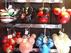 Disney Christmas Ornaments ... An Annual Purchase!!!