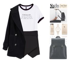 SheIn 8 by alexandra-provenzano on Polyvore featuring polyvore, fashion, style, H&M, Madewell and Olivia Burton