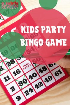 Kids party bingo game which the kids will surely love, this bingo game is not an extraordinary one, it is challenging and offers a lot of excitement and challenges. Sharing you this pin for a fantastic bingo game party for kids! #kidsbingo #kidsbingogame #kidsparty #kidspartygame #bingo #bingogame